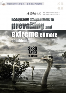 Ecosystem adaptations to prevailing and extreme climate conditions